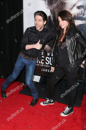 Stock Photo of Christian Campbell and Vanessa Ferlito
