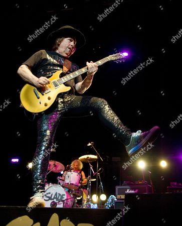 Slade - Dave Hill and Vocalist and Don Powell