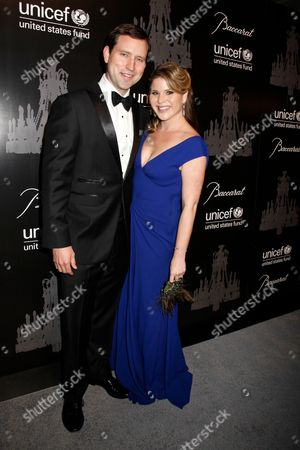 Stock Picture of Jenna Bush and Henry Chase Hager