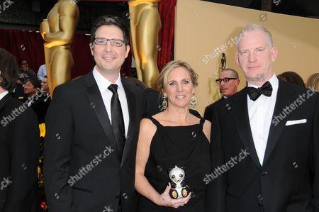 Mark Osborne, Melissa Cobb and John Stevenson