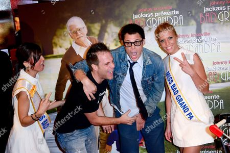 Stock Photo of Johnny Knoxville and Remi Gaillard