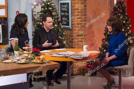 Editorial photo of 'Lorraine Live' TV Programme, London, Britain - 04 Dec 2013