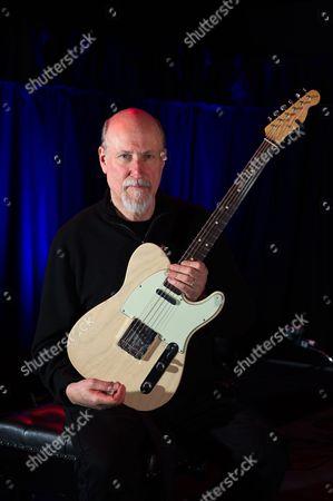 Bristol, Britain. American Jazz-rock Guitarist And Composer John Scofield (Or Guitarist Magazine March 2