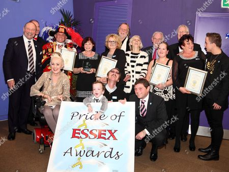 Editorial image of Pride of Essex Awards, Anglian Ruskin University, Chelmsford, Britain - 03 Dec 2013