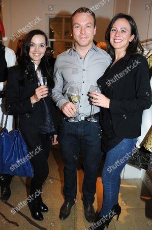 Victoria Pendleton, Chris Hoy and Sarra Kemp