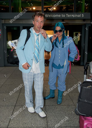 Editorial photo of Celebrities arriving at Heathrow Airport, London, Britain - 04 Dec 2013