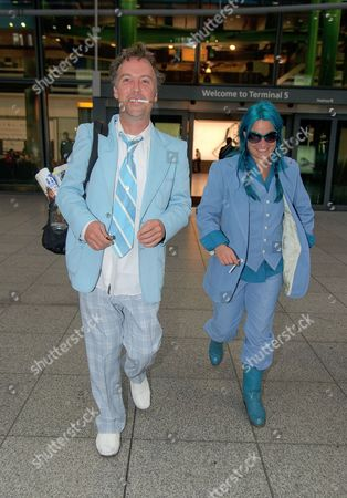 Editorial image of Celebrities arriving at Heathrow Airport, London, Britain - 04 Dec 2013