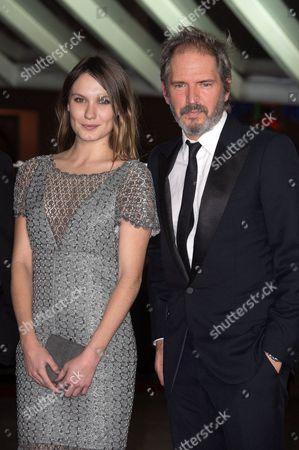 Ana Girardot and Christopher Thompson