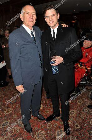 Bill Curbishley and Jeremy Irvine