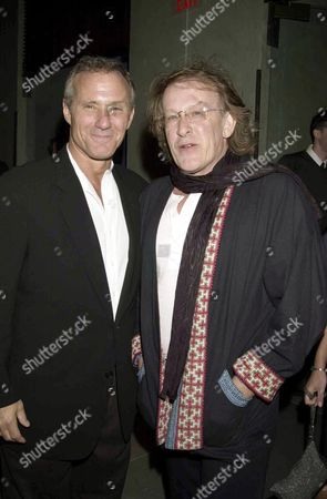 IAN SCHRAGER (L) AND PAUL KANTNER FROM JEFFERSON AIRPLANE