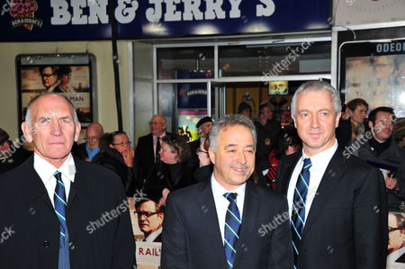 Bill Curbishley, Frank Cottrell and Andy Paterson