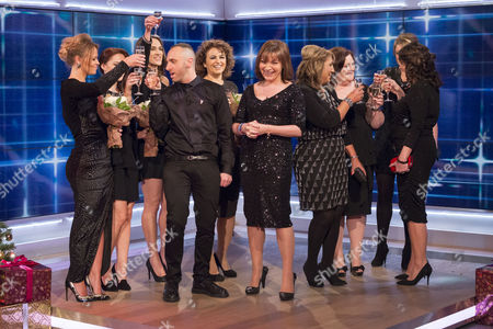 Jane Wake, Nadia Sawalha, Kimberley Walsh, Mark Heyes and Lorraine Kelly
