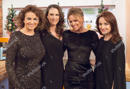 Nadia Sawalha, Jane Wake, Kimberley Walsh and Paula Lane