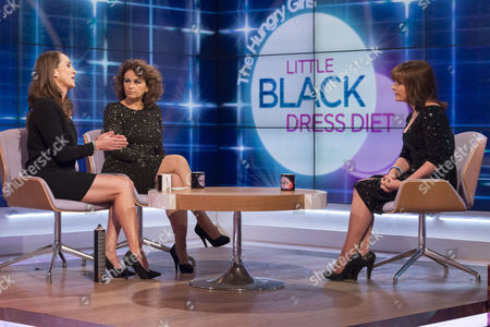 Jane Wake and Nadia Sawalha with Lorraine Kelly