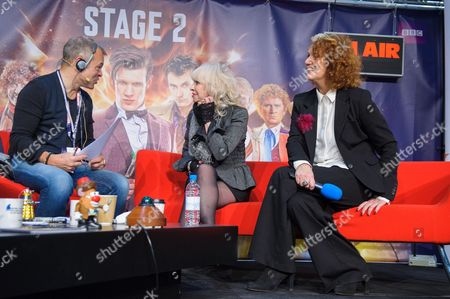 Graham Norton with Katy Manning and Louise Jameson