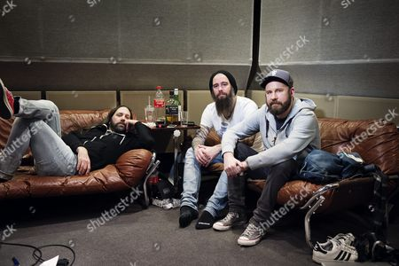 In Flames - Bjorn Gelotte, Niclas Engelin and Anders Friden