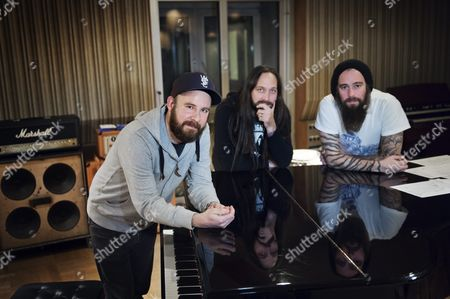 In Flames - Anders Friden, Niclas Engelin and Bjorn Gelotte