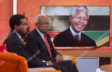 Rageh Omaar and Sir Trevor McDonald