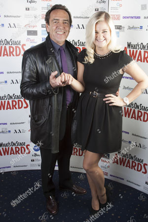 Robert Lindsay and Lucy May Barker