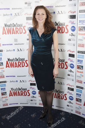 Editorial image of 2013 Whatsonstage.com Awards Launch Party, London, Britain - 06 Dec 2013