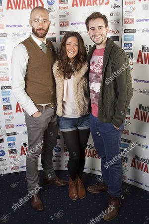 Robbie Towns, Julie Atherton and Luke Kempner