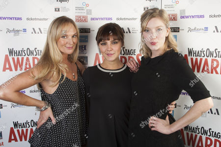 Katherine Kingsley, Annabel Scholey and Robyn Addison