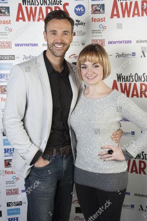 Michael Xavier and Charlotte Wakefield