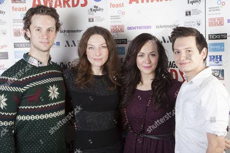 Jeremy Taylor, Willemijn Verkaik, Savannah Stevenson and Sam Lupton