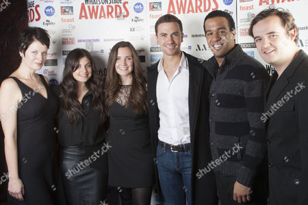Jo Napthine, Katie Bernstein, Rosanna Hyland, Richard Fleeshman, Aaron Lee Lambert and Joel Montague