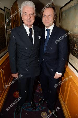 Stock Image of Nicky Haslam and Daniel Zakharov