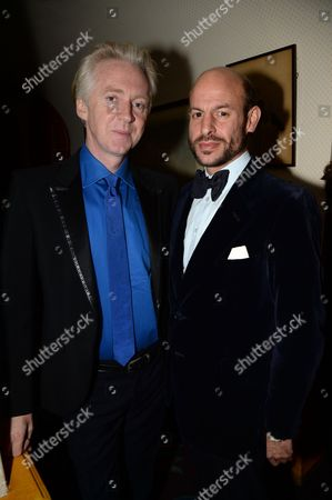 Philip Treacy and Stefan Bartlett