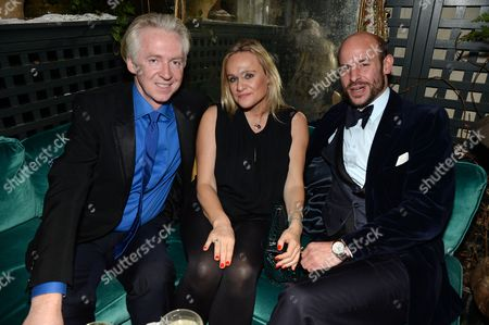 Philip Treacy, Pip Gill and Stefan Bartlett