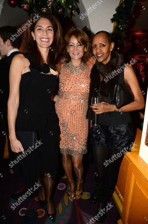 Stock Picture of Suzanne Egloff Du Pasquier, Tonilynn Navarre and Hanna Shiferaw