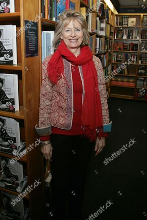 Editorial photo of Victoria Brittain promoting her book 'Shadow Lives: The Forgotten Women of the War on Terror', Blackwells, Oxford, Britain - 04 Dec 2013