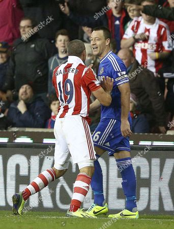 Editorial photo of Barclays Premier League 2013/14, Stoke City v Chelsea, Britannia Stadium, Stoke, Britain - 07 Dec 2013