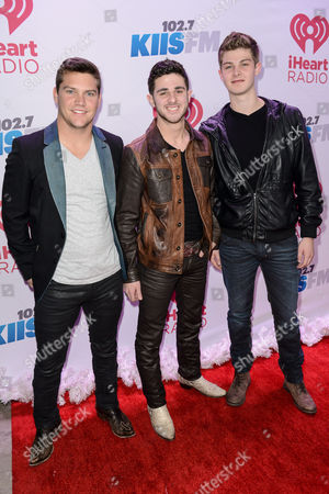 Stock Picture of Andrew Scholz, Colton Pack and Zach Beeken