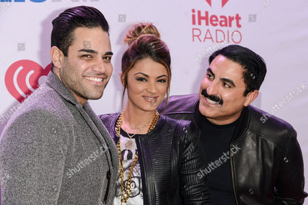 Mike Shouhed, Golnesa Gharachedaghi and Reza Farahan