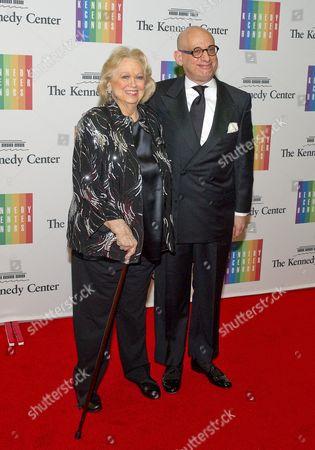 Stock Picture of Barbara Cook and Adam LeGrant