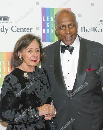 Vernon Jordan and his wife, Ann