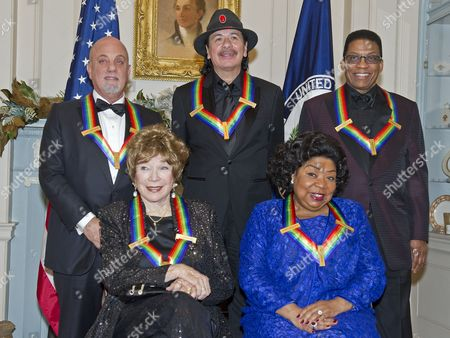 Billy Joel, Carlos Santana, Herbie Hancock, Shirley MacLaine and Martina Arroyo