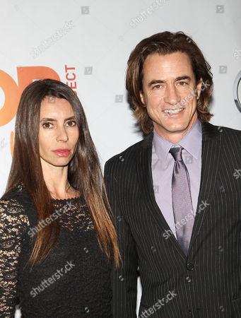 Dermot Mulroney and Tharita Catulle