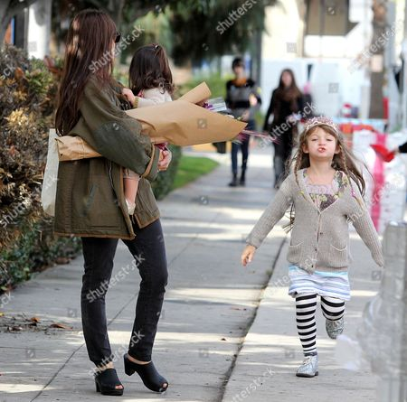 Editorial image of Jason Bateman and family out and about in Los Angeles, America - 08 Dec 2013