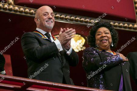 Billy Joel and Martina Arroyo