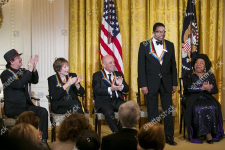 Carlos Santana, Shirley MacLaine, Billy Joel, Herbie Hancock and Martina Arroyo