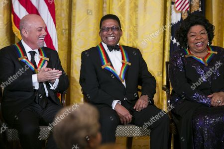 Billy Joel, Herbie Hancock and Martina Arroyo