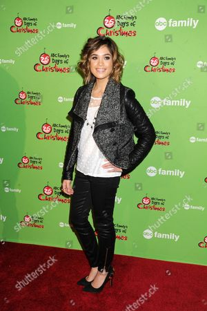 Editorial image of ABC Family's 25 Days of Christmas Winter Wonderland in New York, America  - 08 Dec 2013