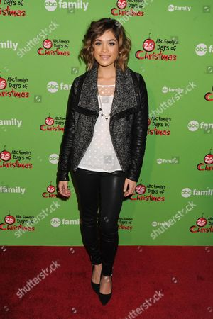 Editorial picture of ABC Family's 25 Days of Christmas Winter Wonderland in New York, America  - 08 Dec 2013