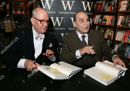 Editorial image of David Suchet 'Poirot and Me' book signing at Waterstones in Guildford, Surrey, Britain - 09 Dec 2013