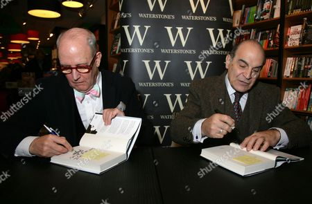 Editorial picture of David Suchet 'Poirot and Me' book signing at Waterstones in Guildford, Surrey, Britain - 09 Dec 2013