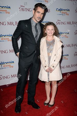 Colin Farrell and Annie Rose Buckley